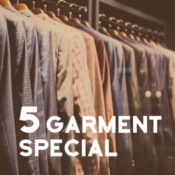 5 Garment Package