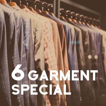 6 Garment Package