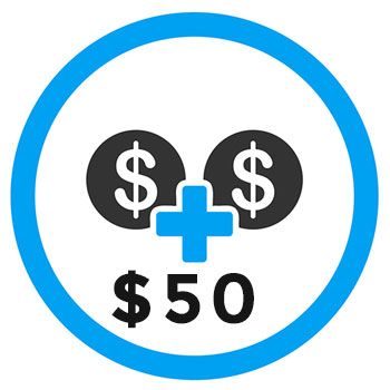 $50 Account Fund Top Up